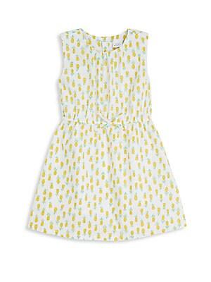 Toddler's & Little Girl's Pineapple-Print Dress