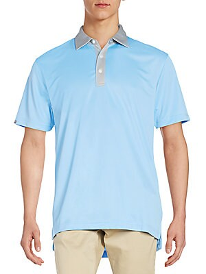 Contrast Detailed Polo Shirt