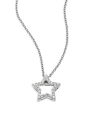 Star Diamond Pendant Necklace