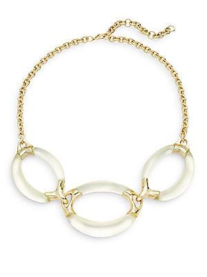 Lucite Medium Three-Link Necklace