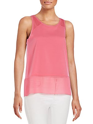 Polly Sheer-Hem Tank