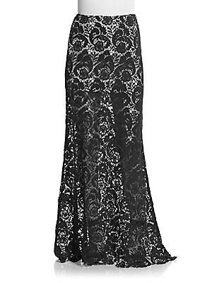 Laredo Lace Maxi Skirt