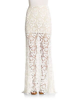 Laredo Lace Maxi Skirt