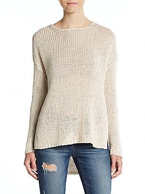 Krissy Cotton & Linen Sweater