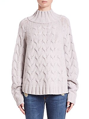 Victory Batwing Cashmere Sweater