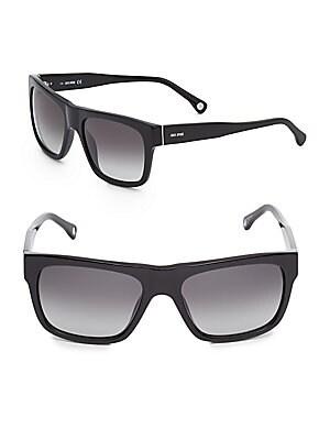 Bennett 56MM Wayfarer Sunglasses