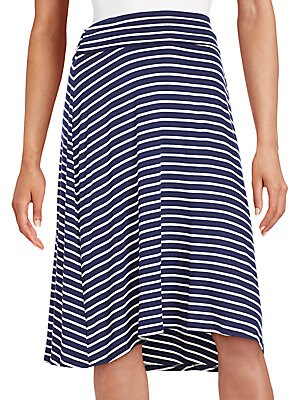 Striped Flip Flop Skirt