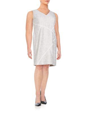 Kiersten Sakura Jacquard Dress Lafayette 148 New York, Plus Size