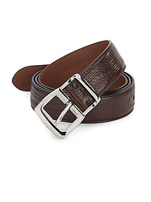 Seamed Leather Belt