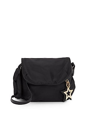 Goldtone Star Crossbody Bag