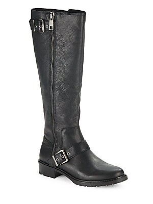 Shayna Leather Riding Boot