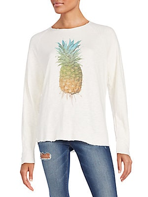 Pineapple Graphic Sweatshirt