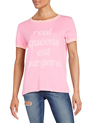 Real Queens Distressed Graphic Tee