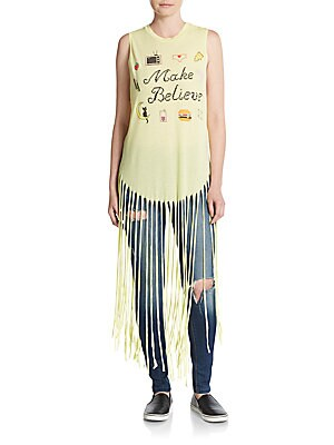 Gypsy Make Believe Fringe Tank