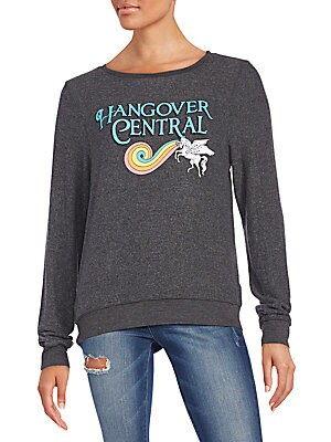 Hangover Central Graphic Sweatshirt