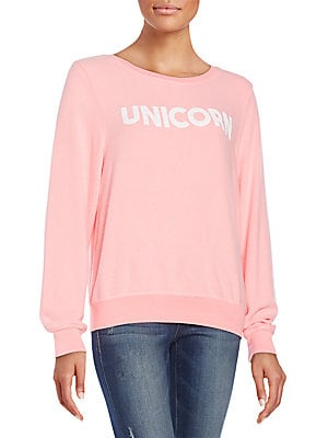 Unicorn Graphic Sweatshirt