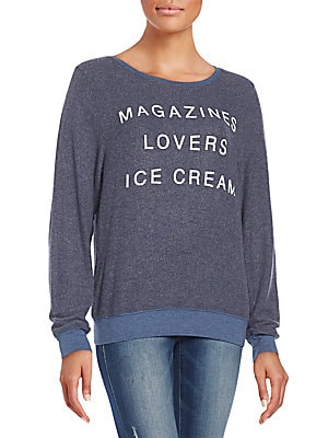 Magazines Graphic Sweatshirt