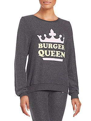Burger Queen Graphic Sweatshirt