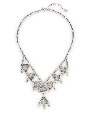 Crystal Filigree Necklace