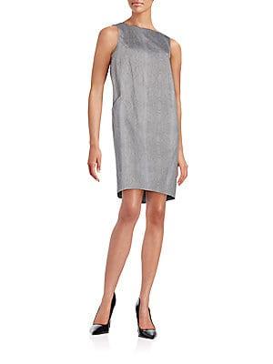 Valentina Snake-Print Dress