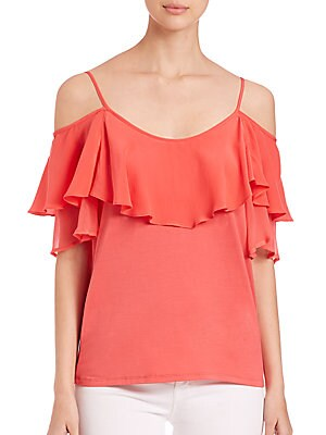 Bella Cold-Shoulder Top