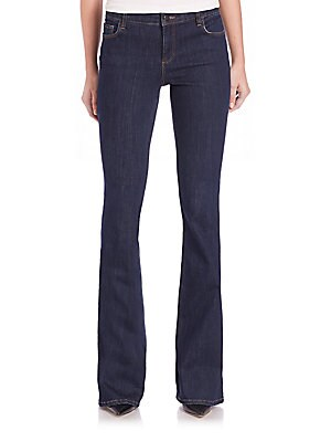 Alexa Tapered Wide-Leg Jeans