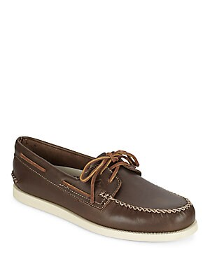 A/O Leather Boat Shoes