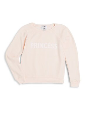 Little Girl's Couch Princess Sweater