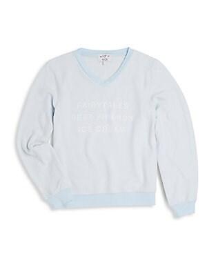 Girl's Graphic Sweatshirt