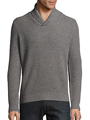 Rib-Knit Cashmere Sweater