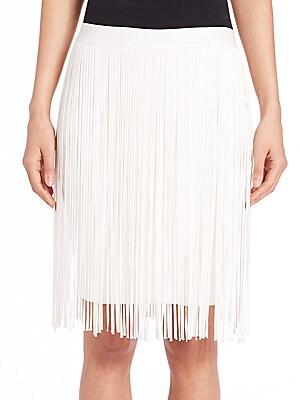 Olsen Fringed Skirt