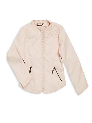 Girl's Front Zip Jacket