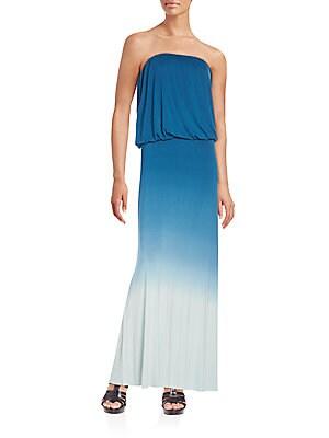 Sydney Strapless Maxi Dress
