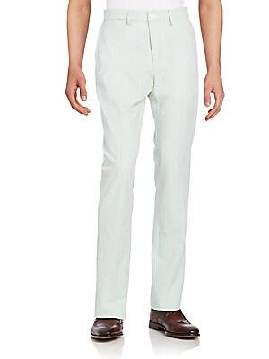 Bernard Striped Cotton Pants