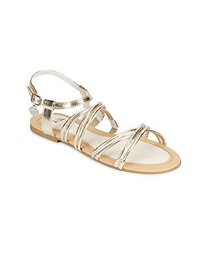 Camia Metallic Sandals