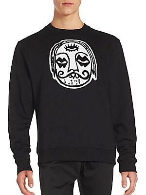 3rd Eye Embroidered Hoodie Sweatshirt