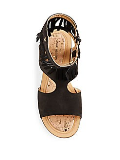 Girl's Fringed Ankle Sandals