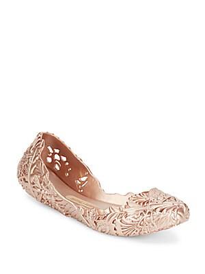 Textured Ballet Flats