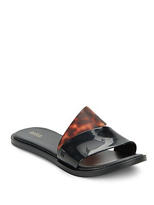 Bronzer Slide Sandals
