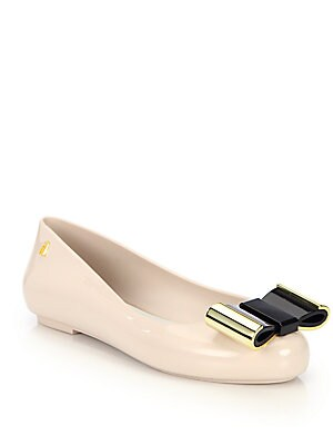 Space Bow Slip-On Ballet Flats
