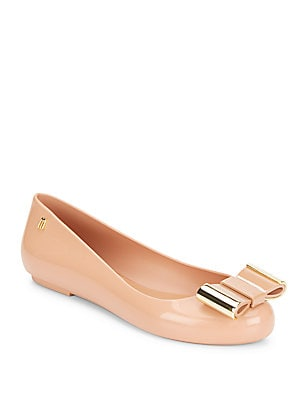 Space Love II Bow Ballet Flats