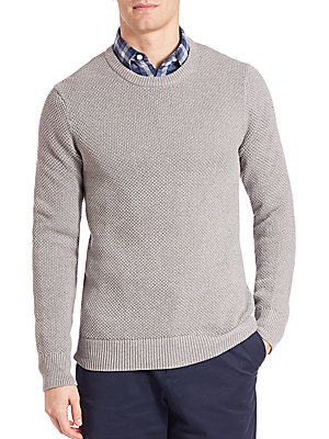 michael kors male 45906 cotton crewneck sweater
