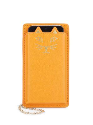 Feline iPhone 5 Leather Case