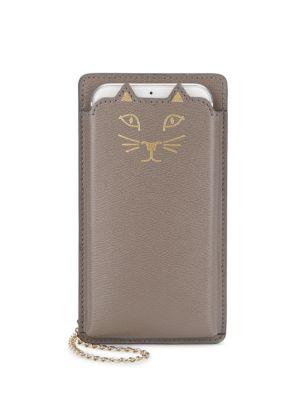 CHARLOTTE OLYMPIA Feline Iphone 6 Leather Case
