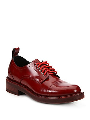 Solid Leather Oxfords