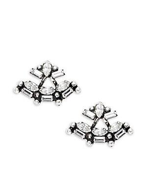 Crystal Cosmo Stud Earrings