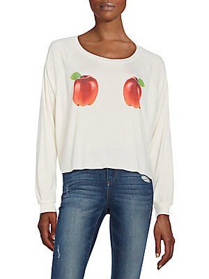 Apple Graphic Sweatshirt