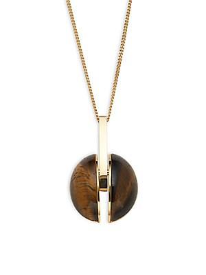 Ellie Stone Pendant Necklace