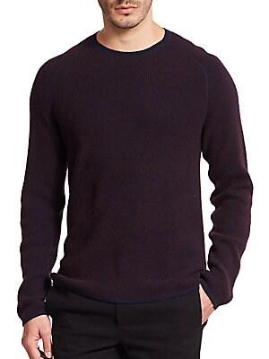 Thermal Cashmere Crewneck Sweater