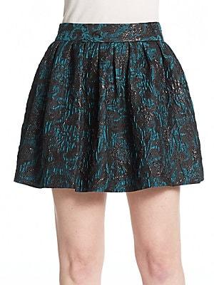 Stora Box-Pleated Skirt